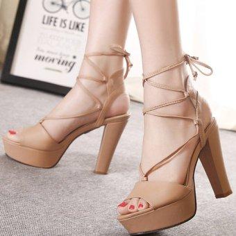 Giày cao gót 106 (Be)