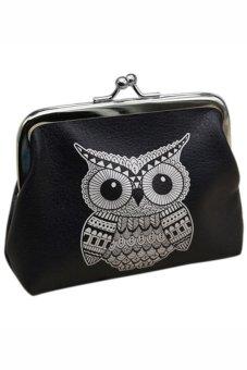 Bluelans Women Owl Wallet Card Holder Case Coin Purse Clutch Handbag Bag (Intl)