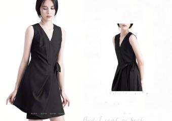Đầm suông Xavia Clothes Lizzy (Đen)