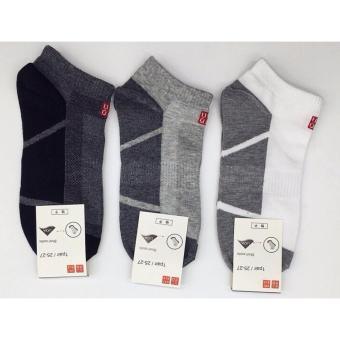 Bộ 5 đôi tất nam cổ thấp Uni Nhật Bản