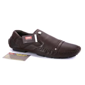 Giày nam da thật cao cấp Da Giày Việt Nam VNLMOS8A99-1N (Nâu).