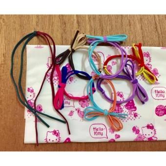Bộ 40 dây buộc tóc handmade hình nơ tạo mẫu