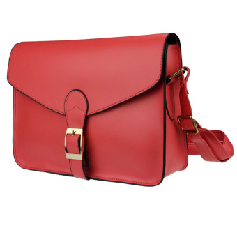 Hot New Girl Women Leather Satchel Shoulder Messenger Bag Handbag Watermelon red