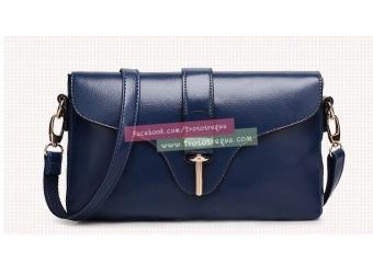 Túi đeo chéo nữ Global Link-BF010X (Xanh)