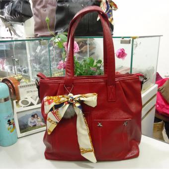 Túi nữ da cao cấp DaH2 TN1393 (màu đỏ)