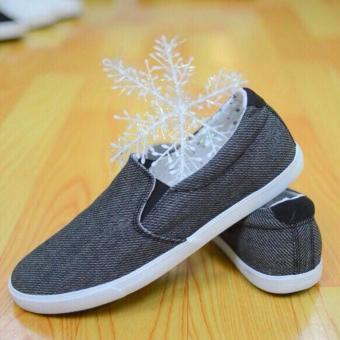 Giày lười nam Levo loại đẹp (xám)