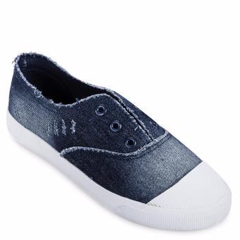 Giày lười thể thao nữ AZ79 WNTT0120016A2 (Xanh Đậm)