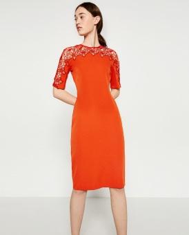 Đầm Kiểu Zara (Cam)