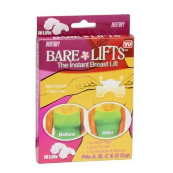Bộ 20 miếng dán nâng ngực trong suốt Bare Lifts