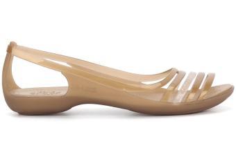 Xăng đan đế bằng Crocs Crocs Isabella Huarache Flat W Bronze 202463-854