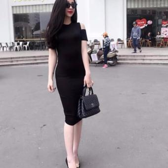 Đầm body hở vai hotgirl LV1500