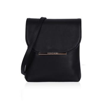 Túi đeo chéo hình chữ nhật Verchini 3951 (Đen)