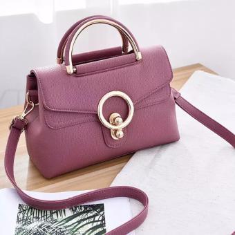 Túi xách thời trang đeo chéo W (TÍM)