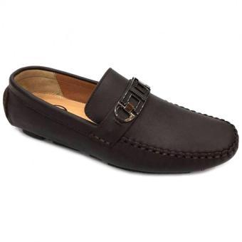 Giày lười da thật nam Everest D50