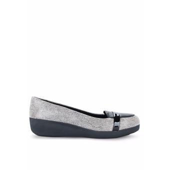 Giày Búp Bê Fitflop F-Pop Loafer (Xám)