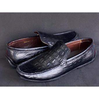 Giày mọi da bò dập vân cá sấu: Giày VO VP095771