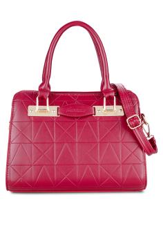 Túi đeo chéo nạm đinh xinh xắn Vinadeal A04 (Đỏ)