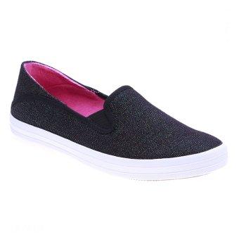 Giày lười nữ Aqua Sportswear W125A (Đen)
