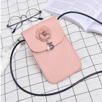 New Women Mini Cross Body Bag Mobile Phone Pouch Ladies Small Shoulder Bag PK - intl