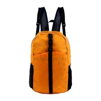 Portable Folding Lightweight Backpack Shoulder Bag Men and Women Outdoor Mountaineering Bags Waterproof Bag - Intl - intl