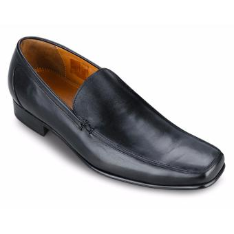 Giày Da Pierre Cardin Black Loafer - PCMFWLA018