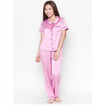 Pyjama lụa dài Cloud TD5 (Hồng)