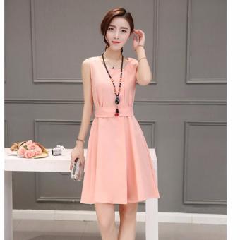 Đầm Xòe Nữ Sodoha SMG626 Pink
