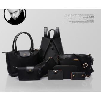 Túi xách, ví và balo 8 mẫu dành cho nữ CHODEAL24H (đen)