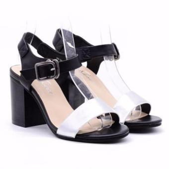 Sandal cao gót Evashoes Eva0668 Đen
