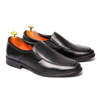 Giày tăng chiều cao nam da giày việt nam vnl0a00d (Đen).