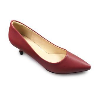 Giày bít nữ cao gót 7f