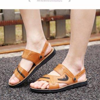 Dép sandal nam Rozalo RM3075N - Nâu