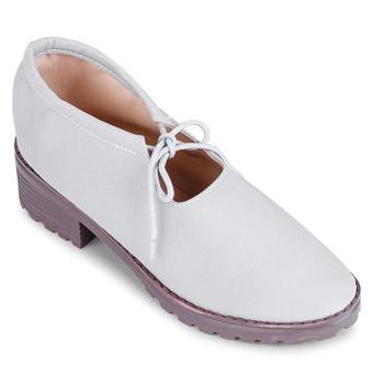 Giày Oxford cột dây Sarisiu SRS844 (Xám)