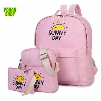 Bộ 3 Sunny Day POHAN OSD02 (Hồng Phấn)