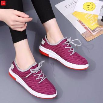 Giày Sneaker Thời Trang nữ Erosska - GN021 (Đỏ)