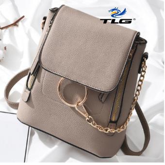 Túi nữ thời trang 2 trong 1 phong cách Hàn Quốc Đồ Da Thành Long TLG 208100 3(kaki)