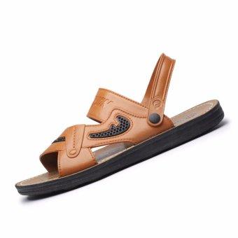 Dép sandal nam Rozalo RM3088N - Nâu