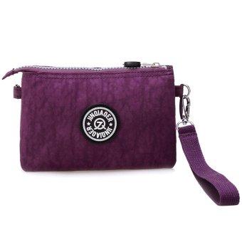 Waterproof Nylon Handbag Shoulder Diagonal Bag Messenger - intl