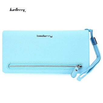 Baellerry Wrist Wallet Phone Pocket(Azure) - intl