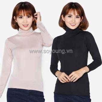 Bộ 2 áo giữ nhiệt cổ lọ tay dài SoYoung 2WM TOP 014C B NU
