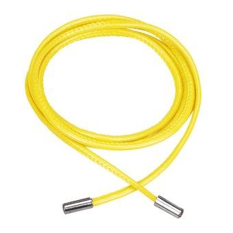 Leather Waist Belt Waist Chain Yellow