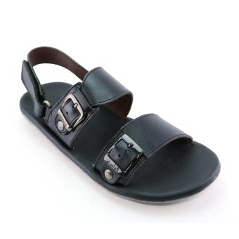 Giày Sandals Nam F058 (Đen)