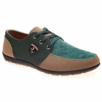 Giày tây nam thời trang HNP GN039 (Xanh rêu)