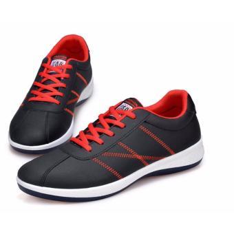 Giày thể thao nam GAPUKY GA3201 (Đen-đỏ)