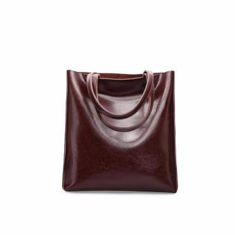 Túi xách nữ da thật cao cấp phong cách Âu Mỹ QSL073 (Cà phê) - 3721652