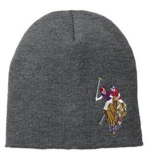 Mũ (nón) len nam U.S. Polo Assn. Men's Solid Beanie (Mỹ) (Xám)