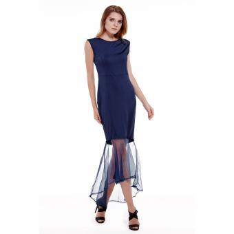 Sexy sleeveless Dress Evening Ball Gown Bridesmaid Party Dress - intl