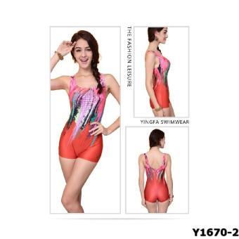 Bộ liền váy Yingfa Y1670-2 (đỏ)