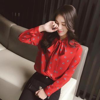 Áo Sơ Mi Nữ Hot 2017 Sodoha ANH329636R - Màu đỏ