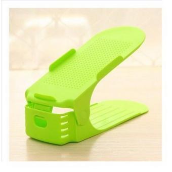 Bộ 5 kệ để giày thông minh điều chỉnh độ cao KG-01-GREENP5 (Màu xanh lá)